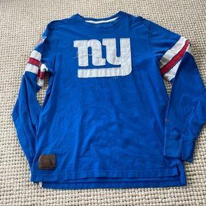 NFL NY Giants football vintage Reebok long sleeve